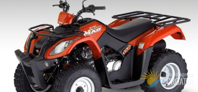 Rent-a-ATV quad MXU 150
