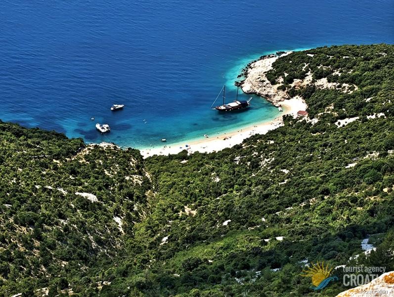 plaža lubenice na otoku cresu