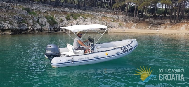 RENT-A-BOAT GOMMONE LOMAC OK 520